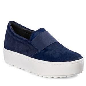 NWT Rachel Zoe Calf Hair Reena Platform Sneakers